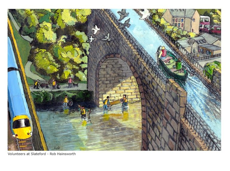 Slatefore Bridge by Rob Hainsworth