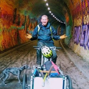 Johnny Wells at Colinton Tunnel